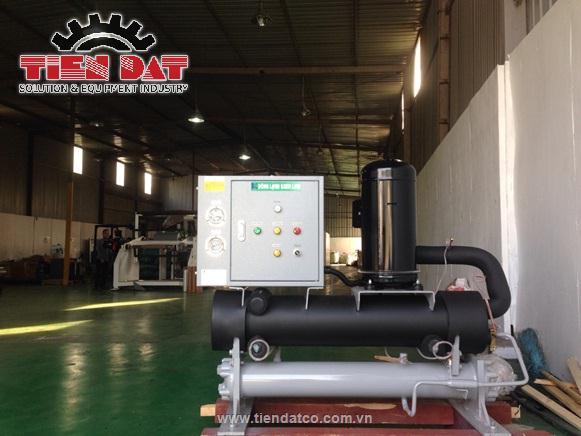 Hệ thống làm lạnh nước tại nhà máy bao bì chất lượng