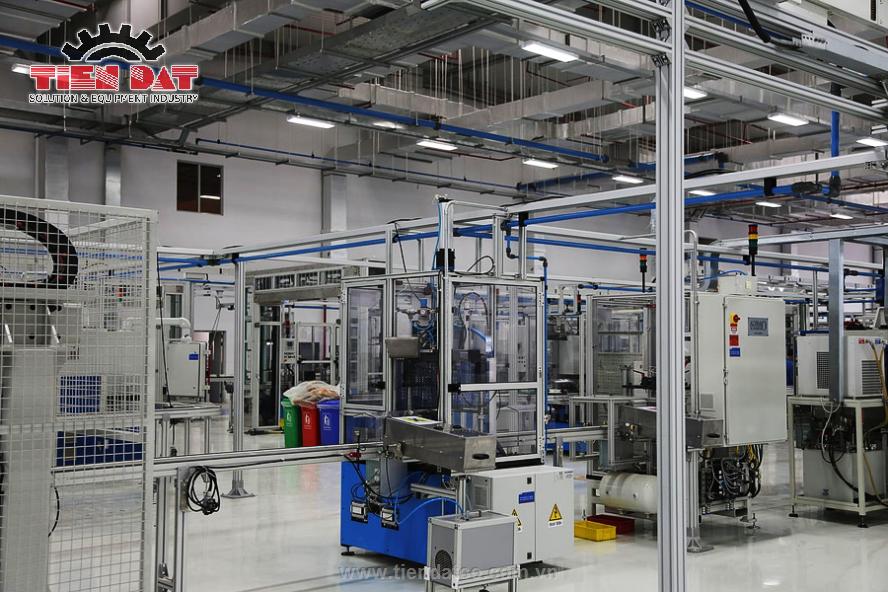 Báo giá hệ thống khí nén công nghiệp