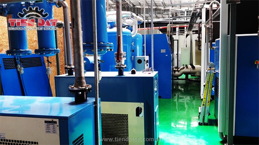 thiết kế hệ thống khí nén công nghiệp