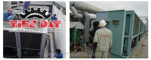 Sửa chữa bảo trì máy làm lạnh nước