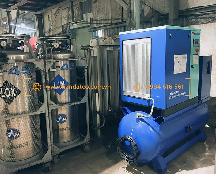 máy nén khí laser CNC